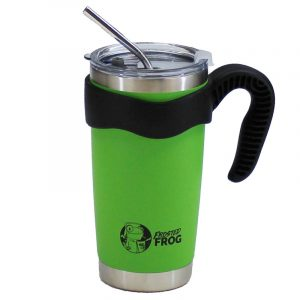 Frosted Frog 20 oz Green Tumbler | Premium Supplier of Tumblers, Coolers and Apparel | Tumblers and Coolers