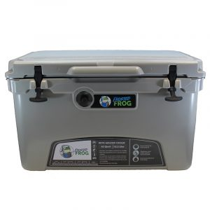 Frosted Frog 45 QT Grey Premium Cooler   Premium Supplier of Tumblers, Coolers and Apparel   Tumblers and Coolers