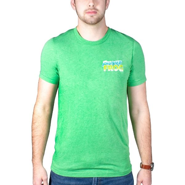Frosted Frog Green T-shirt | Frosted Frog Apparel