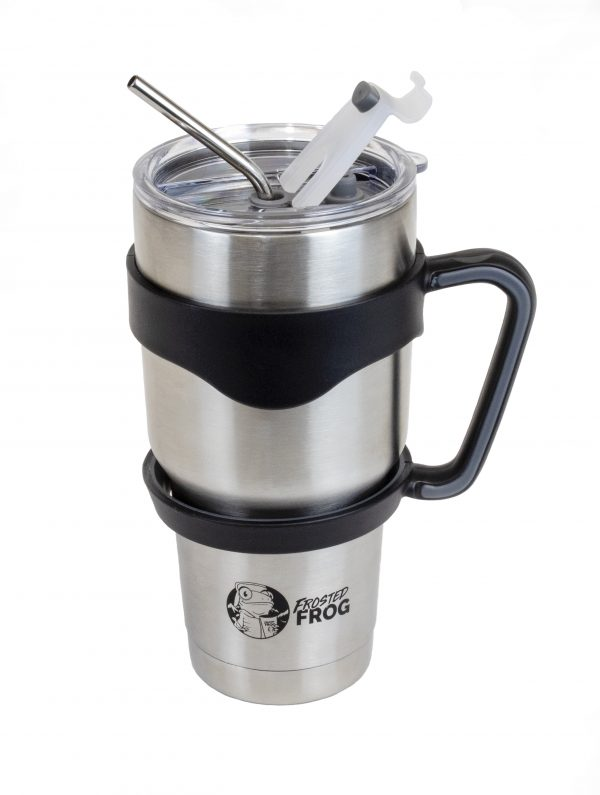 Frosted Frog Stainless Steel Tumbler | Premium Supplier of Tumblers, Coolers and Apparel | Tumblers and Coolers