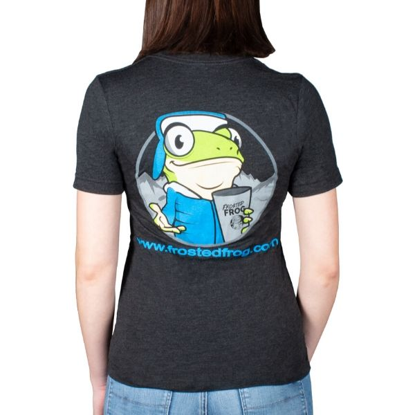 Frosted Frog Black T-shirt | Frosted Frog Apparel