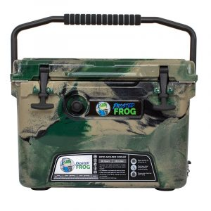 Frosted Frog 20 QT Olive Camo Premium Cooler | Premium Supplier of Tumblers, Coolers and Apparel | Tumblers and Coolers
