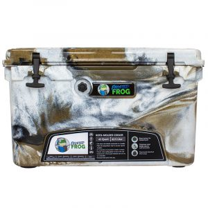 Frosted Frog 45 QT Desert Camo Premium Cooler   Premium Supplier of Tumblers, Coolers and Apparel   Tumblers and Coolers