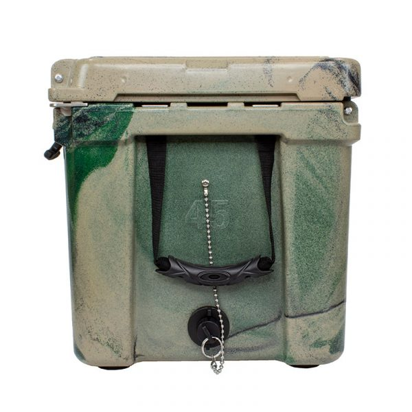 Frosted Frog 45 QT Olive Camo Premium Cooler | Premium Supplier of Tumblers, Coolers and Apparel | Tumblers and Coolers