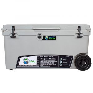 Frosted Frog 110 QT Grey Premium Cooler | Premium Supplier of Tumblers, Coolers and Apparel | Tumblers and Coolers