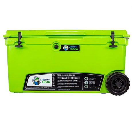 Frosted Frog 110 QT Green Premium Cooler | Premium Supplier of Tumblers, Coolers and Apparel | Tumblers and Coolers
