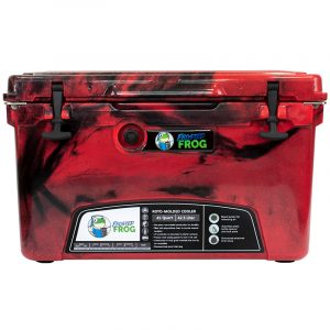 Frosted Frog 45 QT Red Camo Premium Cooler | Premium Supplier of Tumblers, Coolers and Apparel | Tumblers and Coolers