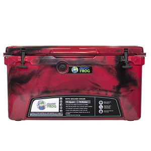 Red Camo 75 QT | Frosted Frog Cooler