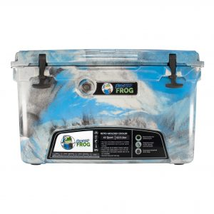Frosted Frog 45 QT Camo Blue, Gray & Black | Premium Cooler | Premium Supplier of Tumblers, Coolers and Apparel | Tumblers and Coolers