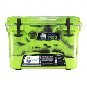 Frosted Frog 20 QT Camo Original Green & Black   Premium Cooler   Premium Supplier of Tumblers, Coolers and Apparel   Tumblers and Coolers
