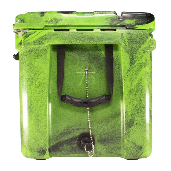 Frosted Frog 75 QT Camo Original Green & Black | Premium Cooler | Premium Supplier of Tumblers, Coolers and Apparel | Tumblers and Coolers