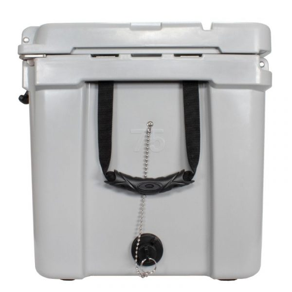Frosted Frog 75 QT Grey Premium Cooler | Premium Supplier of Tumblers, Coolers and Apparel | Tumblers and Coolers