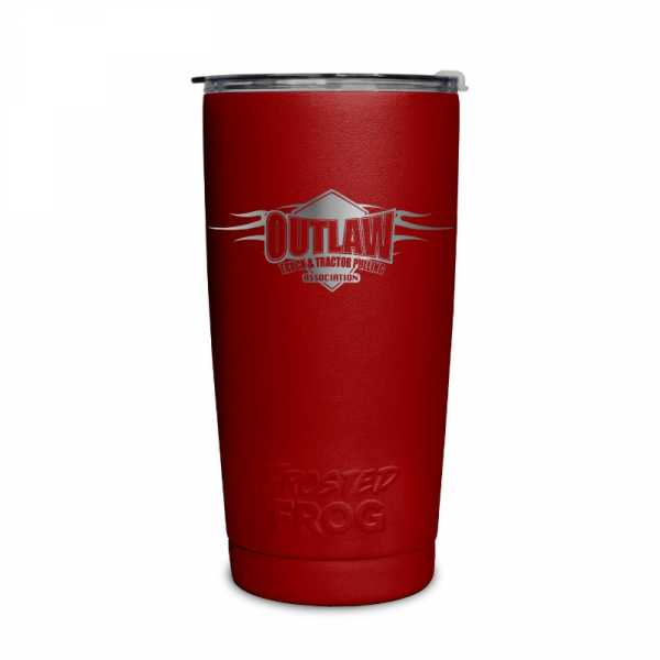 Frosted Frog Red Outlaw Tumbler | Premium Supplier of Tumblers, Coolers and Apparel | Tumblers and Coolers