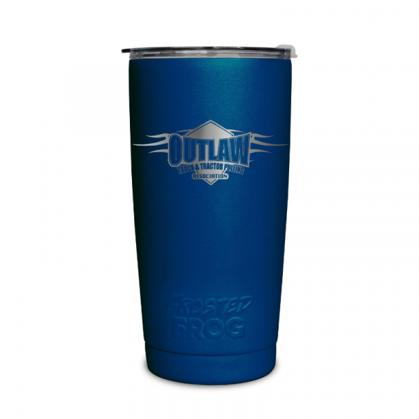Frosted Frog Dark Blue Outlaw Tumbler | Premium Supplier of Tumblers, Coolers and Apparel | Tumblers and Coolers