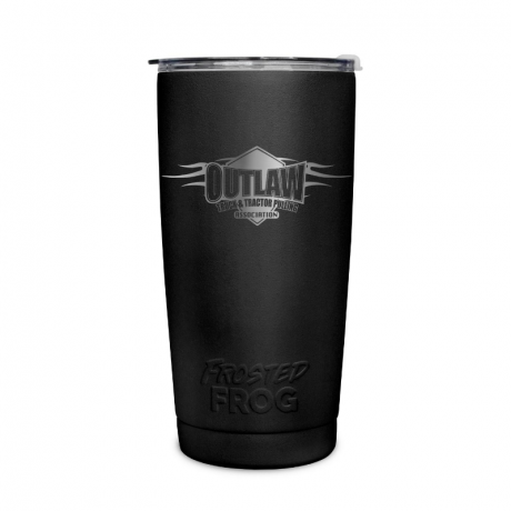 Frosted Frog Black Outlaw Tumbler | Premium Supplier of Tumblers, Coolers and Apparel | Tumblers and Coolers