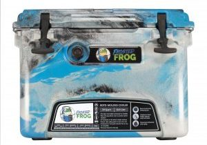 Frosted Frog 20 QT Camo Blue, Gray & Black | Premium Cooler | Premium Supplier of Tumblers, Coolers and Apparel | Tumblers and Coolers